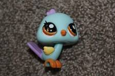 Peacock #1719 Blue Purple Brown Eyes LPS Toy Bird RARE Littlest Pet Shop Hasbro