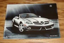 Original 2010 Mercedes-Benz SLK-Class Sales Brochure 10 300 350