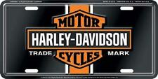 Harley Davidson Vintage Bar & Shield  Embossed Vanity Car License Plate Auto Tag