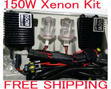150W HID Xenon Conversion Kit Car Lamp Light Bulbs 6000K White H3 H7 H11 H1 H4