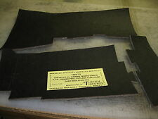 1968-72 CHEVELLE, GTO, CUTLASS, SKYLARK UNDER DASH INSULATION KIT