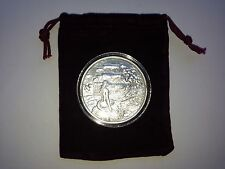 2 oz Fine Silver Privateer SIREN Series 2 Ultra High Relief  w/ Capsule & Pouch