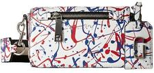 NWT Marc Jacobs Splatter Paint Crossbody Leather Bag Purse Multi $395