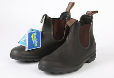 NWT! Blundstone 500 Boots Stout Brown Sz AU 6 - US Mens 7 Womens 9