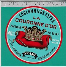 I1210 FROMAGE COULOMMIERS COURONNE D OR VICQ-SUR-NAHON INDRE