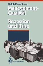 Management-Qualität contra Rezession und Krise (Herausforderungen an d-ExLibrary
