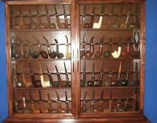 56 Pipe Rack Display Cabinet,Churchwarden,Item # 192