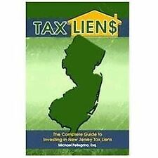 Tax Lien$ : The Complete Guide to Investing in New Jersey tax Liens by...
