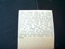 62-9 ephemera 1931 margate article deal lifeboat calendar stanton issued