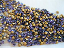 Full pack of 1000 Rhinestones in 5ss Amethyst/foiled. Made in France.