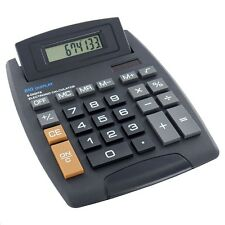 LARGE DESKTOP CALCULATOR SOLAR POWERED BIG JUMBO GIANT XL NOT POCKET UK SELLER