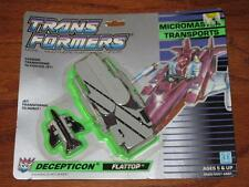 VINTAGE 80s TRANSFORMERS G1 MICROMASTER TRANSPORT FLATTOP ACTION FIGURE 1988 MOC