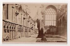 Vintage CDV Chapel Royal Holyrood Palace Edinburgh dated 1877
