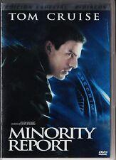 Steven Spielberg: MINORITY REPORT (Ed. 2 DVD) España tarifa plana envíos DVD 5 €