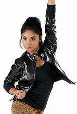 Dance Costume Small Adult Gunmetal SIlver Jacket Hip Hop Jazz Solo Competition