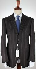 NWT VERSACE COLLECTION SUIT by Zegna 4 season wool grey pink magenta eu 48 us 38