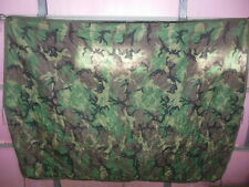 1Z U.S. Army Military Issue Liner, Wet Weather Poncho Camo Insulated Style B