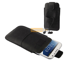 Etui Housse POCKET SLEEVE BAG Noir compatible HUAWEI Ascend Mate 7