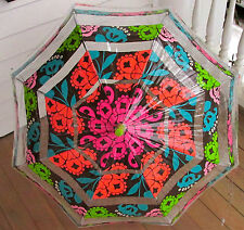 "Vera Bradley LOLA Umbrella 13065-145 NWT 36"" Bubble manual open"