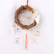 Cool Gift Feathers Circle Dream Catcher Wall Hanging Decoration Car Ornament