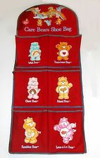 "Vintage 1980's Care Bears Cousin ~ SHOE RACK ~ 30"" Canvas Rack - (B012)"