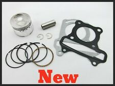 New 44mm Piston Rings Pin Kit GY6 60cc Gas Scooter Moped 139qmb Engine