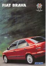 Fiat Brava 1.4 1.6 1.8 S SX ELX 1995-96 Original UK Sales Brochure No. A0452