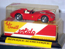 Solido 1956 Ferrari 500 TRC F1 #4 Racing 1/43 Made in France #1101 Sealed