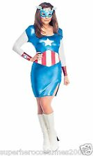 Avengers Age of Ultron Captain America Dream Female Costume Marvel XSmall 880842