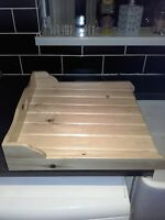 BELFAST   DRAINING BOARD  /SINK DRAINER.....SHABBY CHIC NATURAL PINE .........
