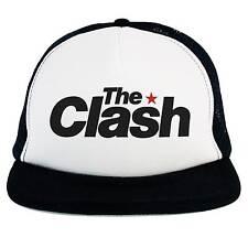 Sombrero La Clash, Trucker Cap, logo música Roca Punk, Ska, Dub, Rockabilly