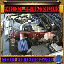 """BLUE 1998-2003/98-03 CHEVY S10 ZR2/XTREME/HOMBRE/SONOMA 2.2L COLD AIR INTAKE 3"""""""
