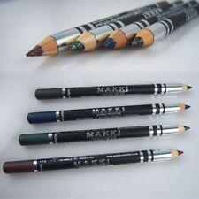 Crayon EYE-LINER Noir Bleu Marron Vert Étincelant X 4