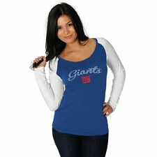 ($40) New York Giants nfl NFLPA Jersey T-Shirt Tee Adult WOMENS/LADIES m-medium