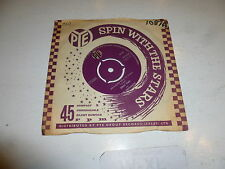 """EMILE FORD AND THE CHECKMATES  On A Slow Boat To China - 1960 UK 7"""" vinyl single"""