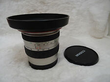 rare with hood Sony Alpha DSLR fit 19-35mm AF Zoom Lens F3.5-4.5 cosina