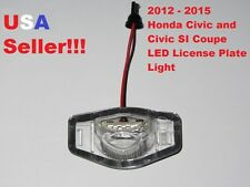 2012 - 2015 Honda Civic Coupe LED License Plate Light Lamp 6000K White