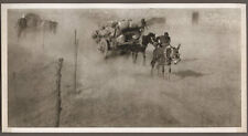 1920's CHINA GRAVURE PAGEANT OF PEKING DONALD MENNIE - SAND BLOWS ON NORTH WALL