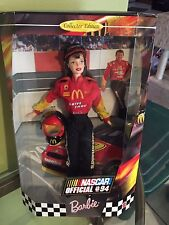 NASCAR BARBIE Official #94 1999 Barbie Doll ~ Collector Edition ~ NRFB