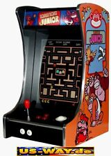 G-288 Donkey Kong Classic Arcade TV Video Spielautomat Thekengerät,  412 Spiele