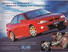 2000 HOLDEN VX COMMODORE Prestige Brochure Includes HSV XU6