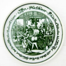 Vintage Souvenir China Small Plate Pin Tray Hutschenreuther Bavaria Barrel Maker