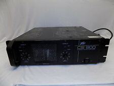 Vintage Peavey CS-800 Amp Amplifier Stereo Power Old School Professional DJ 1500