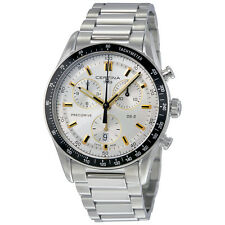 Certina DS 2 Chronograph Silver Dial Mens Watch C024.447.11.031.01