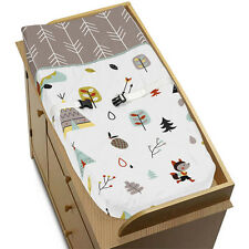 JOJO DESIGNS CHANGING TABLE PAD COVER FOR OUTDOOR ADVENTURE BABY BEDDING SET