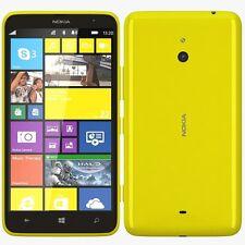 NUOVO Nokia Lumia 530 DUAL SIM GIALLO 4GB Sbloccato Windows Phone 1 ANNO DI MANDATO