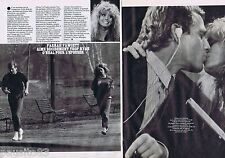 COUPURE DE PRESSE CLIPPING 1982 FARRAH FAWCETT  (2 pages)