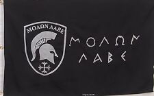 MOLON LABE - COME & TAKE IT - GREEK SPARTANS FLAG - 600D 2-Ply QUALITY OUTDOOR