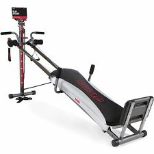 Total Gym 1400 Deluxe Home Fitness With Workout DVD Muscle Exercise Machine NEW
