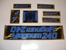 OLD SCHOOL BMX MCS MAGNUM 240 DECAL SET STICKERS NOS